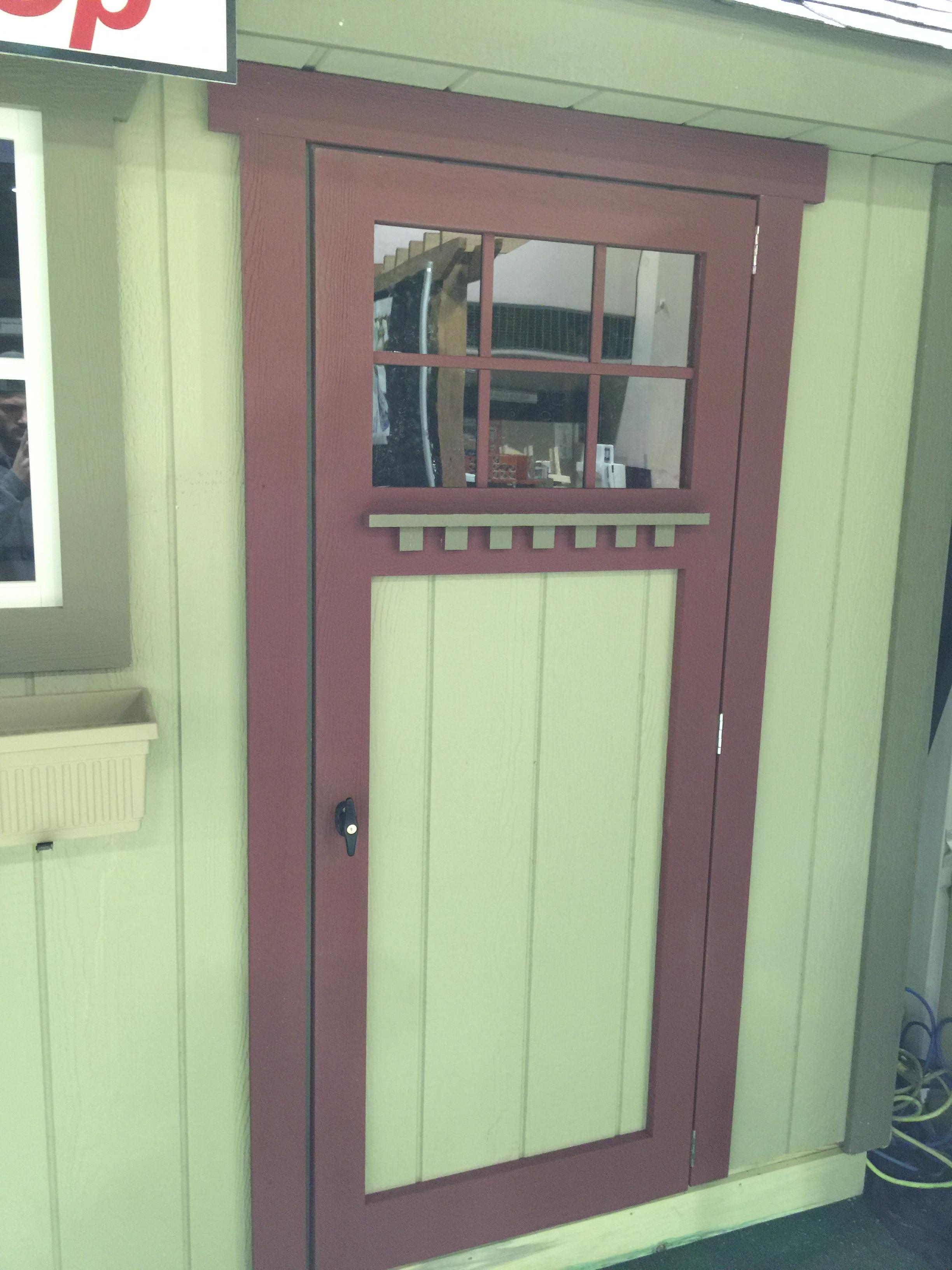 Custom Mission Style Door