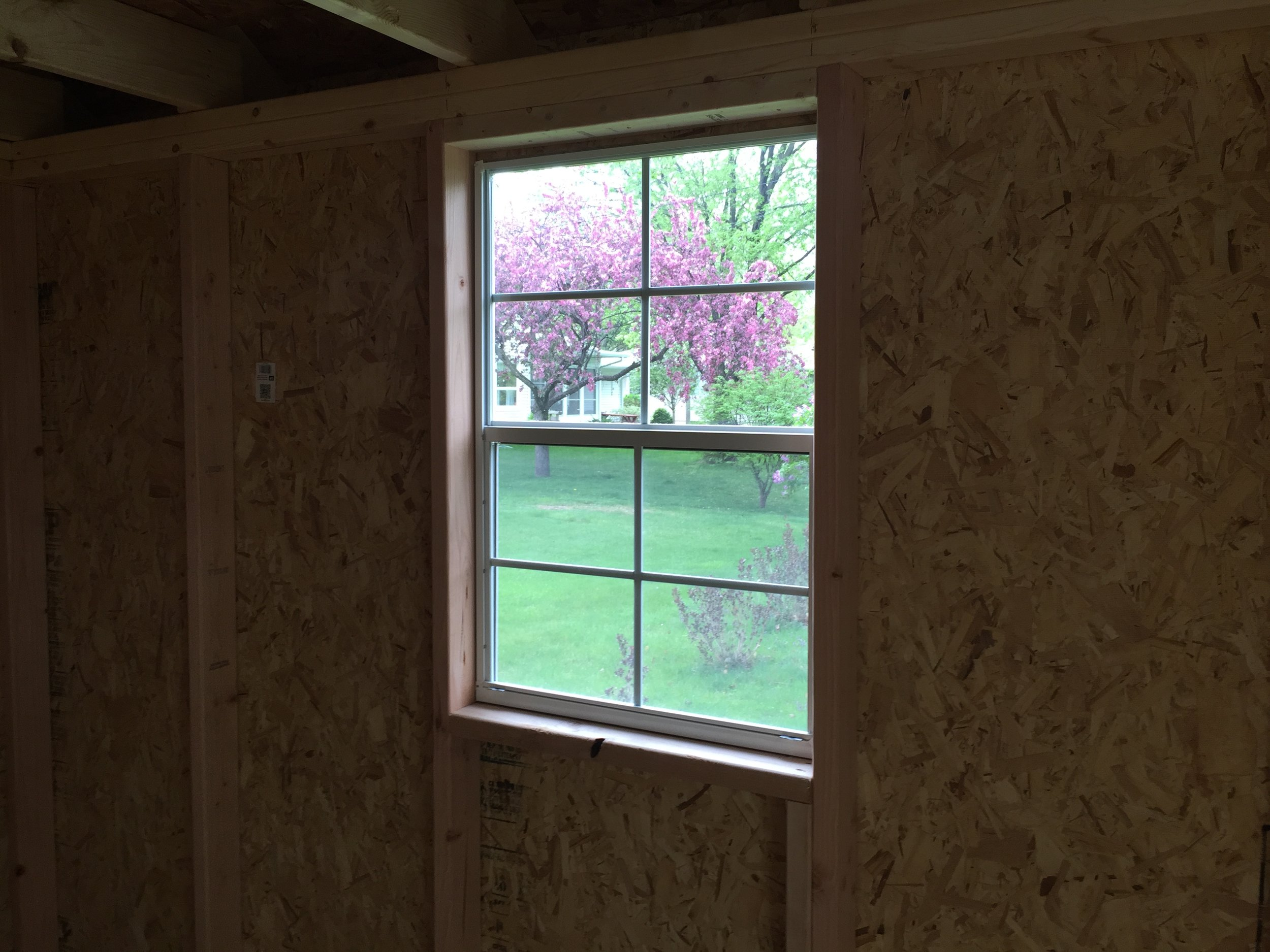 24x36 Window Interior View