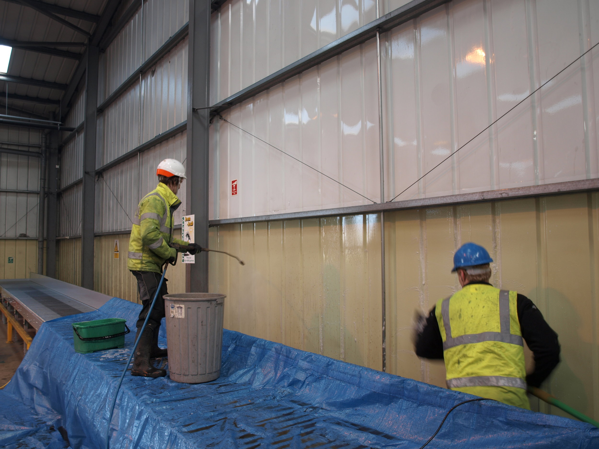 Specialist cleaning - Providing cleaning services few others can manage.
