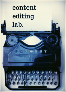 content editing lab. writing. editor