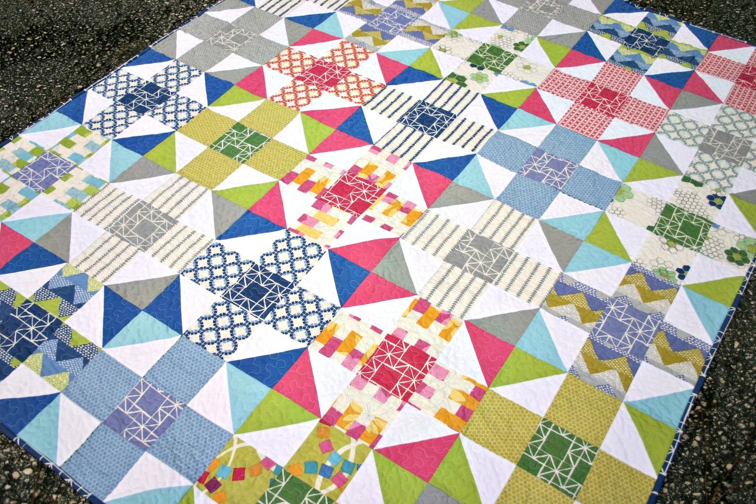 Mod 9 Patch Quilt Tutorial