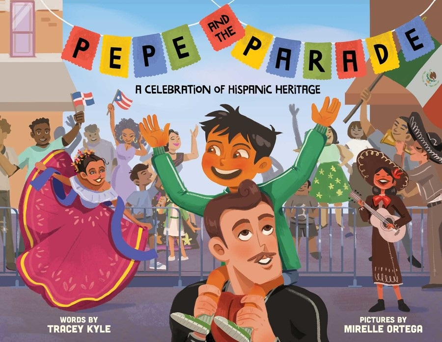 PEPE AND THE PARADE - Join Pepe as he celebrates his Mexican-American heritage by participating in a Hispanic Day parade. Children will delight in seeing many Hispanic cultures proudly honored in this joyous picture book.AVAILABLE HERE