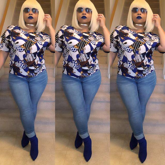 💙 . . . . . #fashionaddict #fashionista #wednesdaypic #styleblogger #curvyfashion #womensfashion #vintageclothing #potd #fashioninspo #fashionstylist #personalshopper #imageconsultant #personalshopper