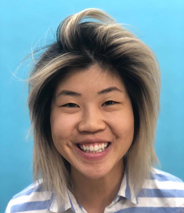 @gchizzle Gwan Gone Blonde! 🌈😍 . 8 1/2 hour 🎨 transformation using @schwarzkopfusa #blondeme @davinesnorthamerica #davinesview @lorealpro #dialight . . . #blonde #blondehair #ombrehair #bleachedhair #blondehighlights #blondebob #thecolorpusher #hairstorystudiodallas #hairstorystudio #hairstorystudiodallas #hairstorystudiopro