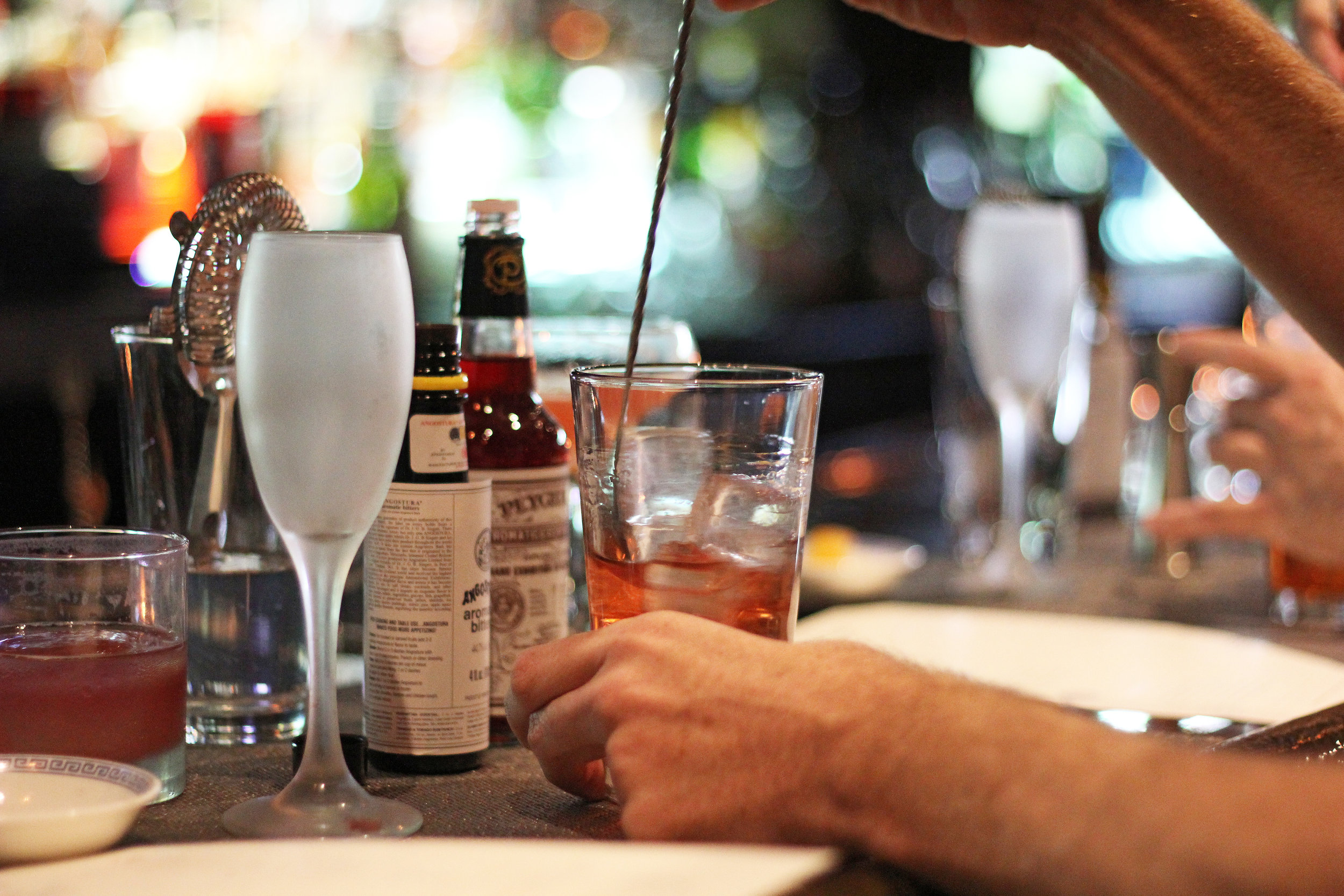 It's all rye with me. - How did the New York Sour get its name? What is the difference between bourbon and rye, and are both considered whiskey? And what the heck is a jigger?