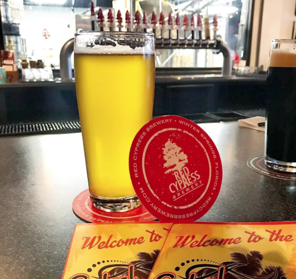 Red Cypress Brewery in Winter Springs