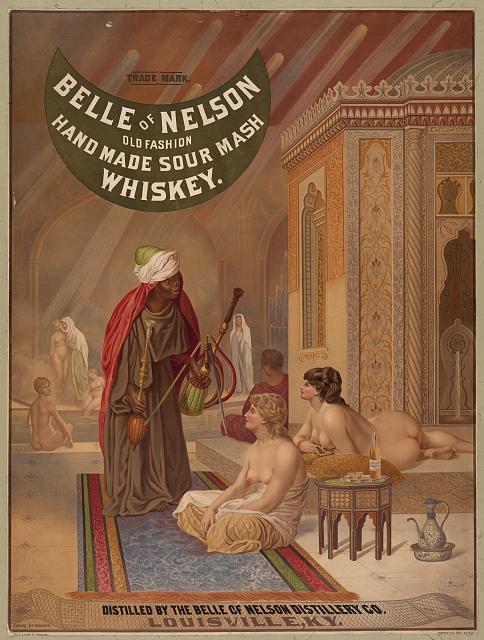 Belle of Nelson Whiskey advertisement
