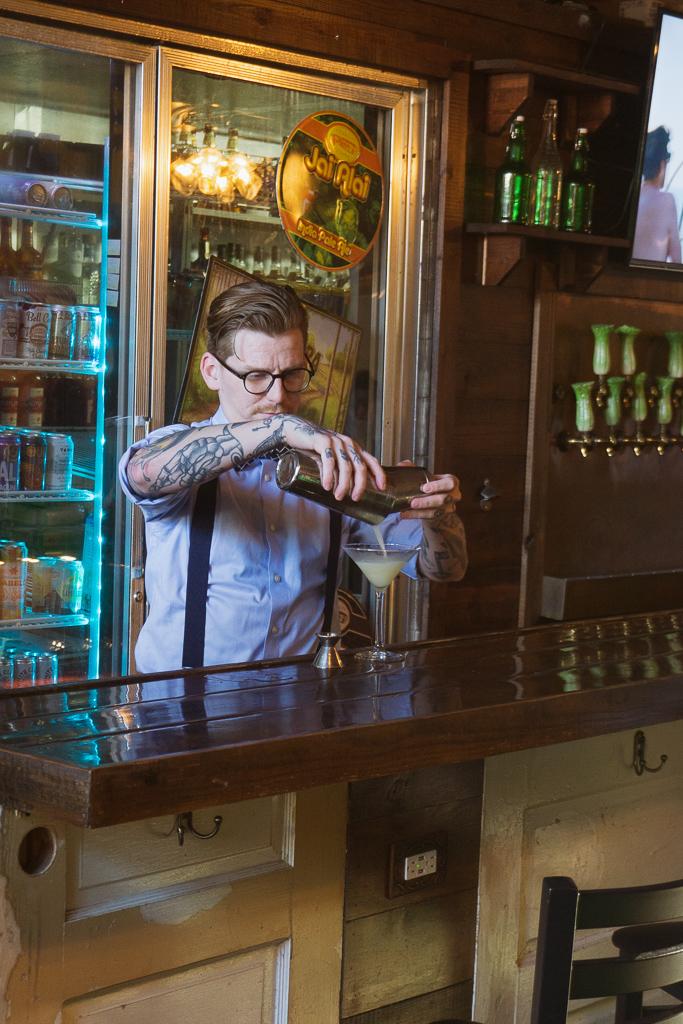 Bartender at Celery City Craft's Smith's Barroom