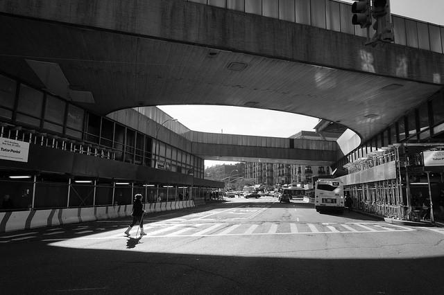 The George Washington  Bridge Bus Terminal