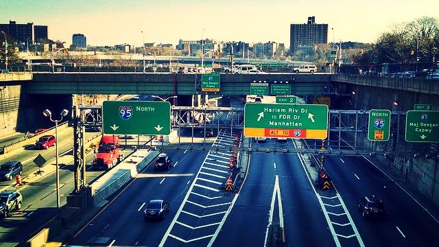 The Crossbronx Expressway (Interstate-95
