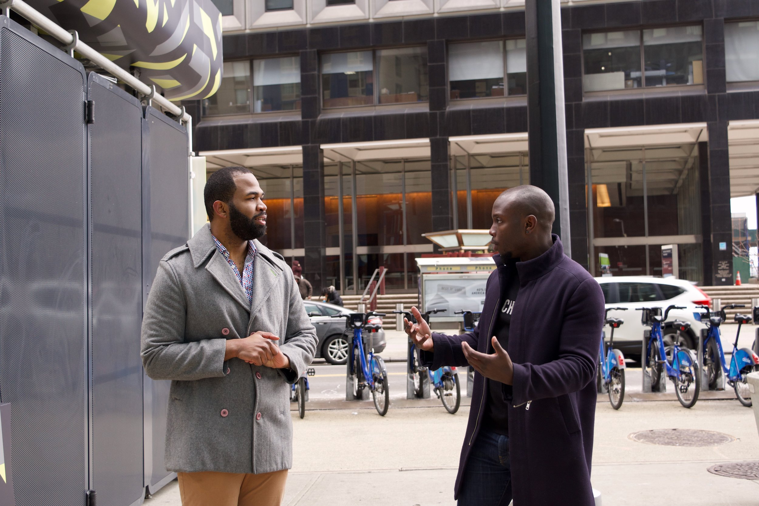 Black + Urban met with Shabazz Stuart in Downtown Manhattan to Speak about his Entrepreneurial Venture with       Oonee     .