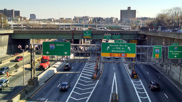 The Crossbronx Expressway (Interstate-95)
