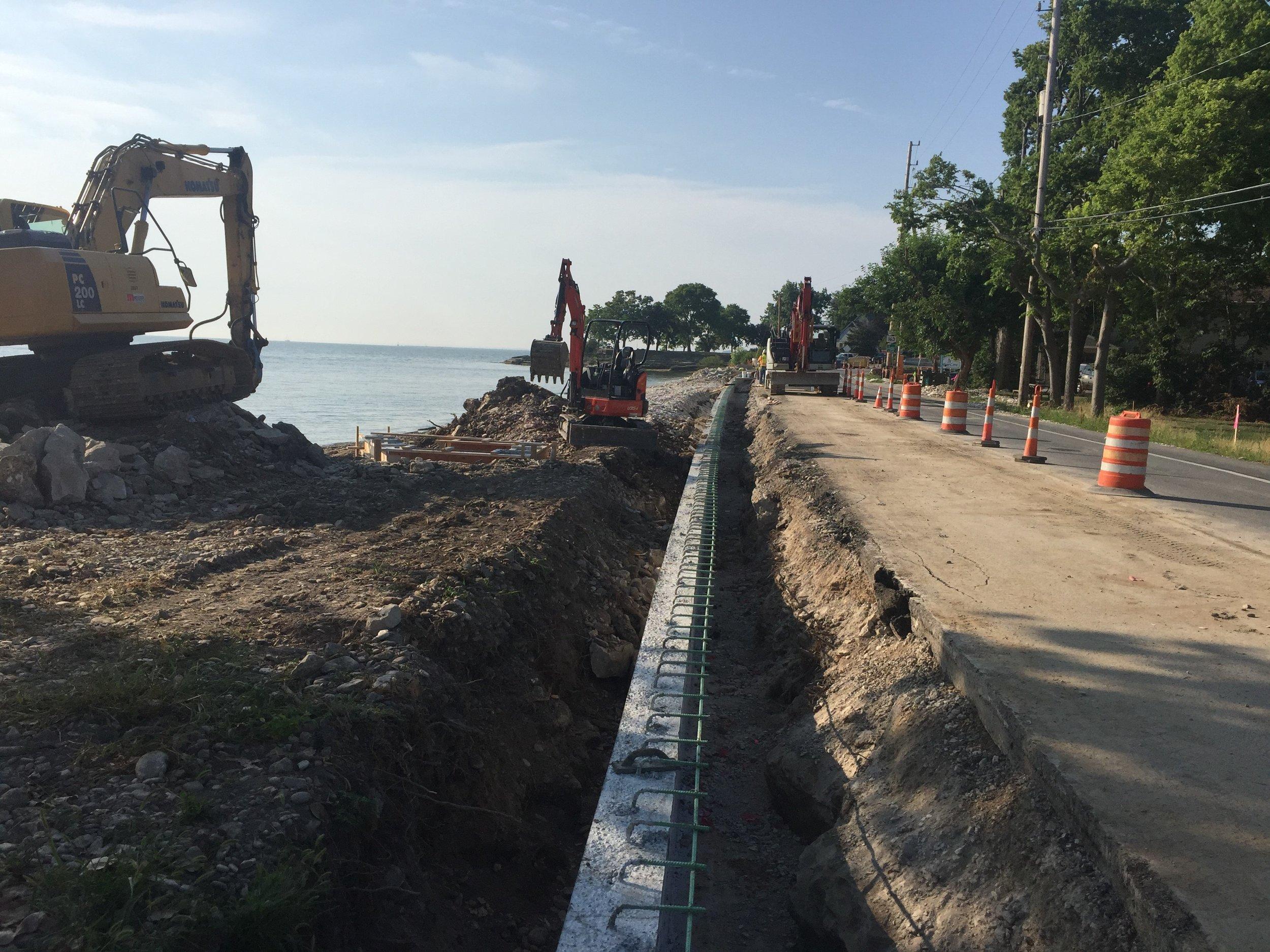 SR 163 Slide Repair-Marblehead, OH