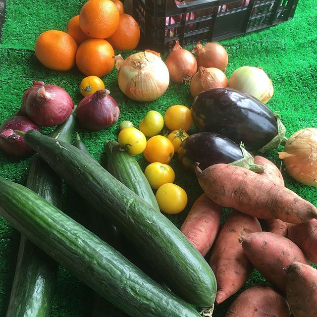 Fresh locally grown veg every Thursday and Saturday. Much of our veg is grown on site using organic principals. #eathealthy