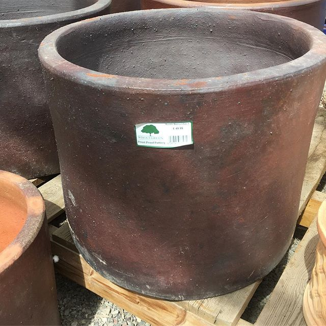 Our fantastic range of pots sourced to offer you fantastic value. This frost proof pot measures more than 50cm across and is available at a under £50. #gardenpots #garden #gardening #plants #gardendesign #flowers #flowerpot