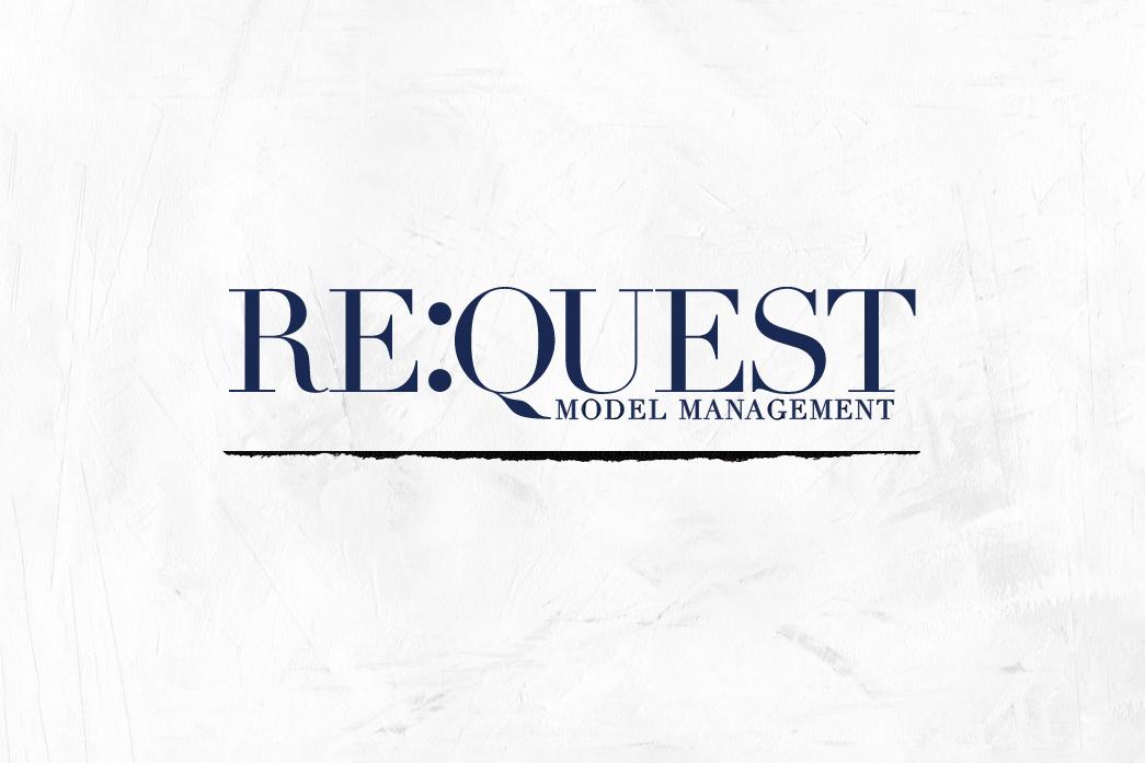 ReQuest models Website redesign - Role: Art Direction, UX & UI Design, Branding, Project Management