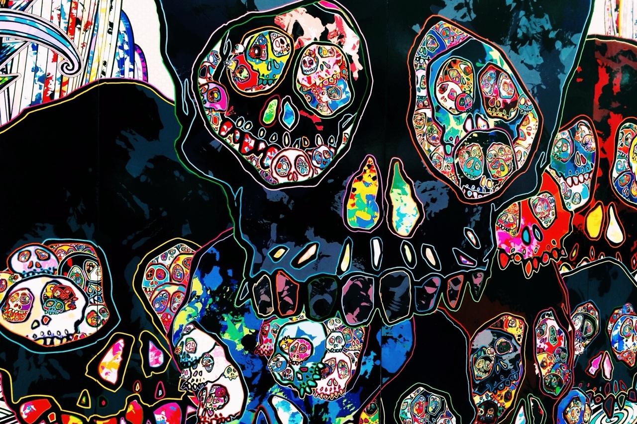 TAKASHI MURAKAMI'S Gagosian SHOW — The Last Magazine -