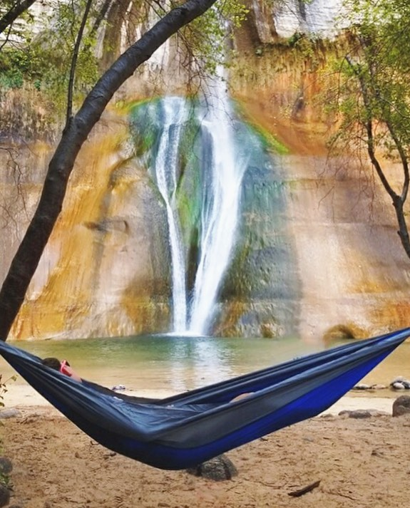 If 2018 taught me one thing, it's to always have a hammock handy. Utah flashback c/o @ejbrus