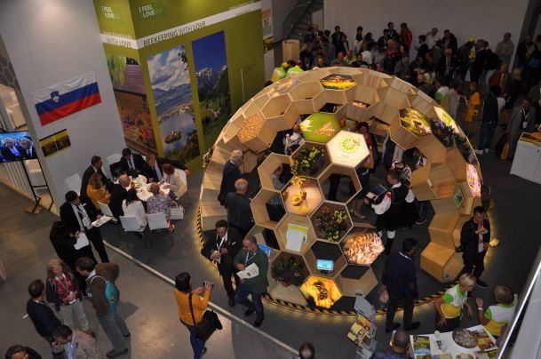 World Bee Day Traveling Display at Apimondia 2017 in Istambul