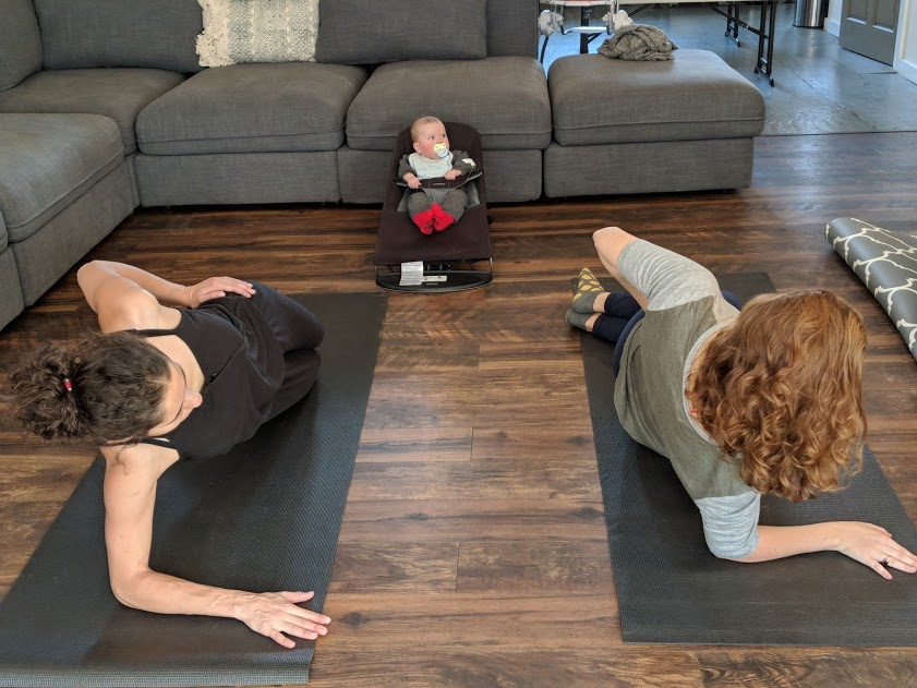 Fitmom and Baby