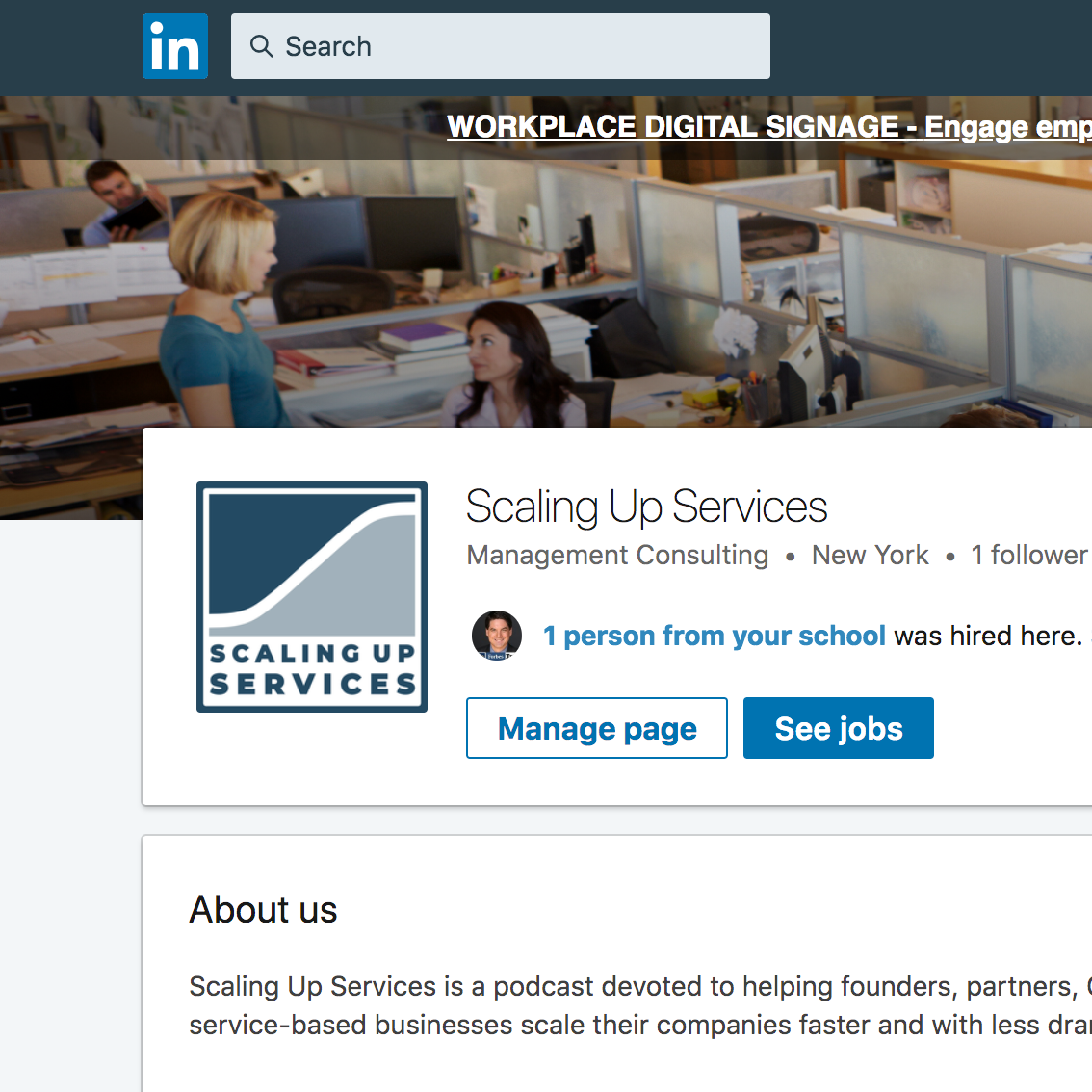 scaling up services - linkedin