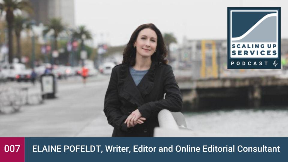 Scaling Up Services - Elaine Pofeldt