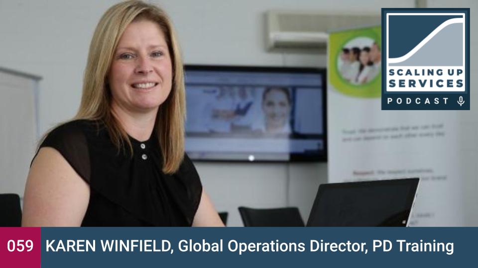 Scaling Up Services - Karen Winfield