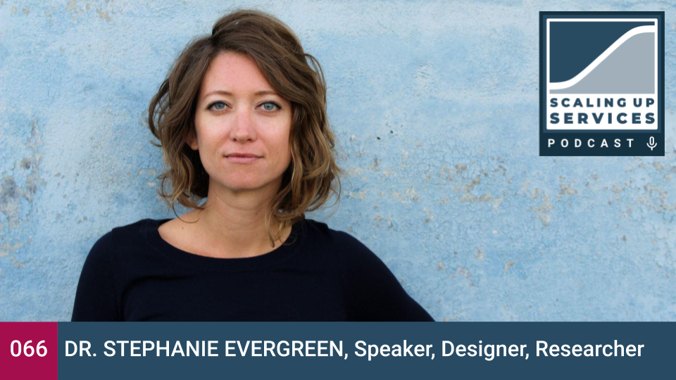 Scaling Up Serivices - Stephanie Evergreen