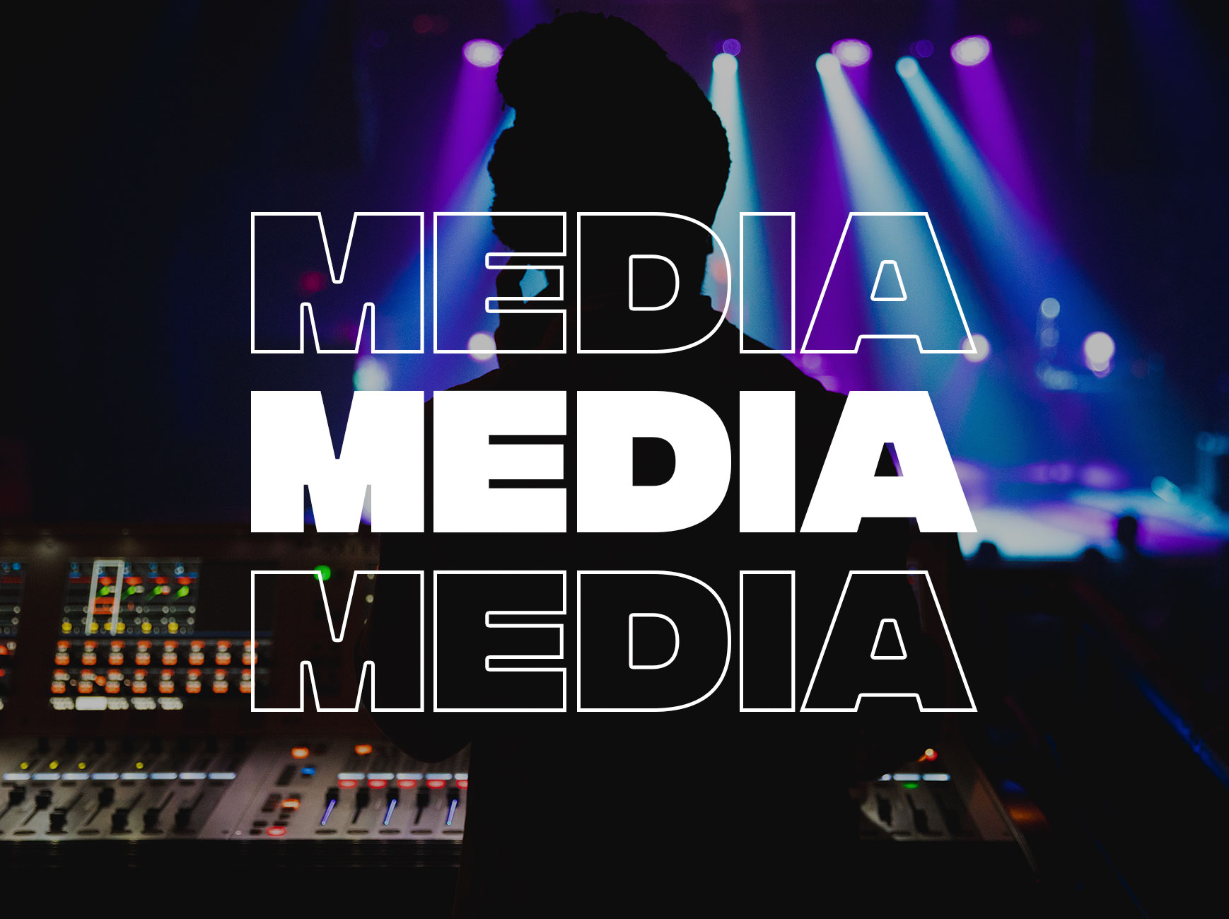 MEDIA  Operating the audio & visual systems to make it happen!   Time commitment: 4:30pm early arrival    Requirements: Experience with A/V equipment