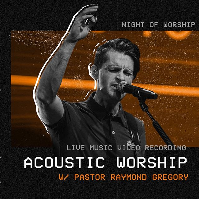 So excited for this Sunday's worship night with Pastor @raymondgregory! Bring some friends and let's worship the Lord together!!!