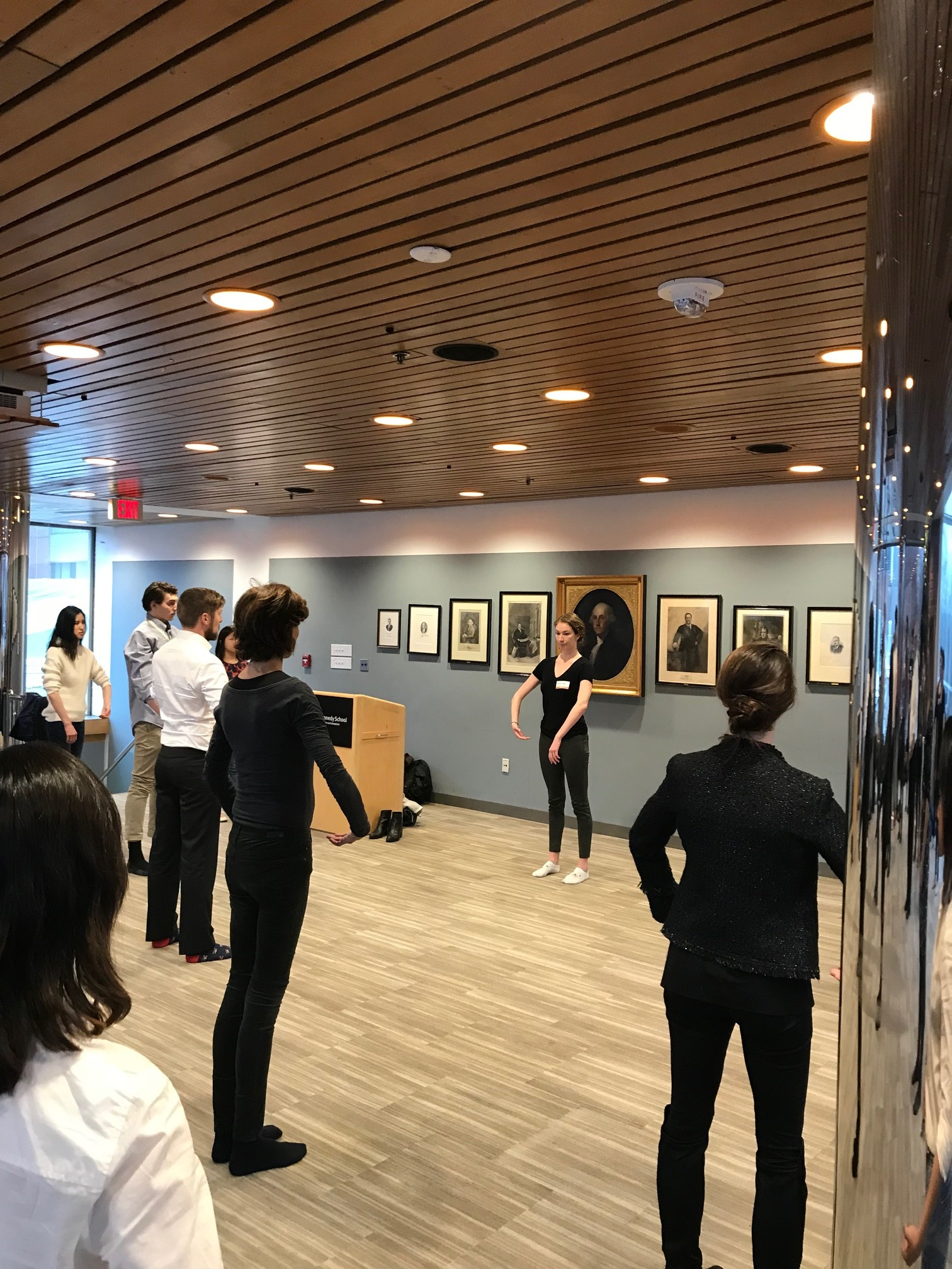 Posture, Power, Performance at the Social Enterprise Conference at Harvard Kennedy School