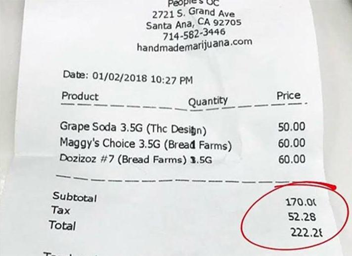 $21 per gram, fam
