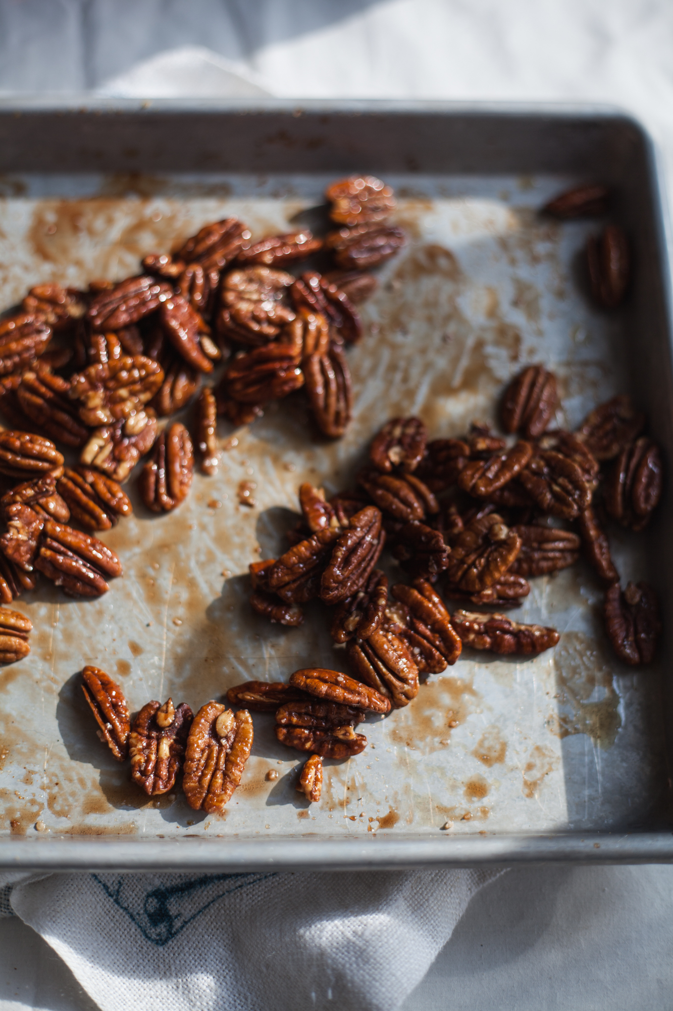 salted maple cayenne pecans   recipe via will frolic for food