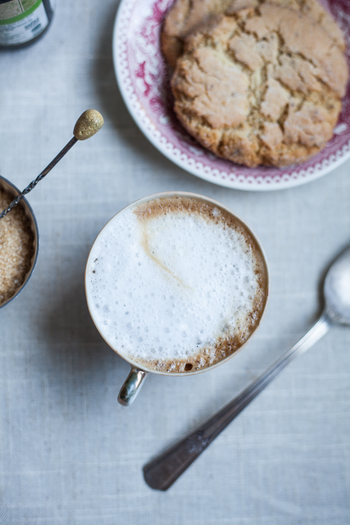 coconut milk cappuccino (vegan, paleo) recipe via will frolic for food