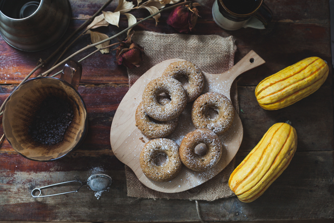 delicata squash donuts (plus a giveaway) | gluten free dairy free recipe via will frolic for food