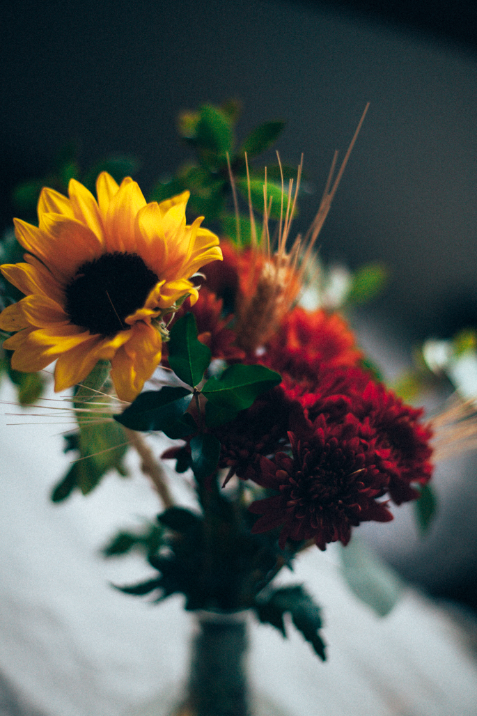 friends giving flower arrangement and a giveaway with J. Q. Dickinson Salt via Will Frolic for Food