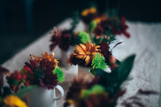 friendsgiving floral arrangement with will frolic for food