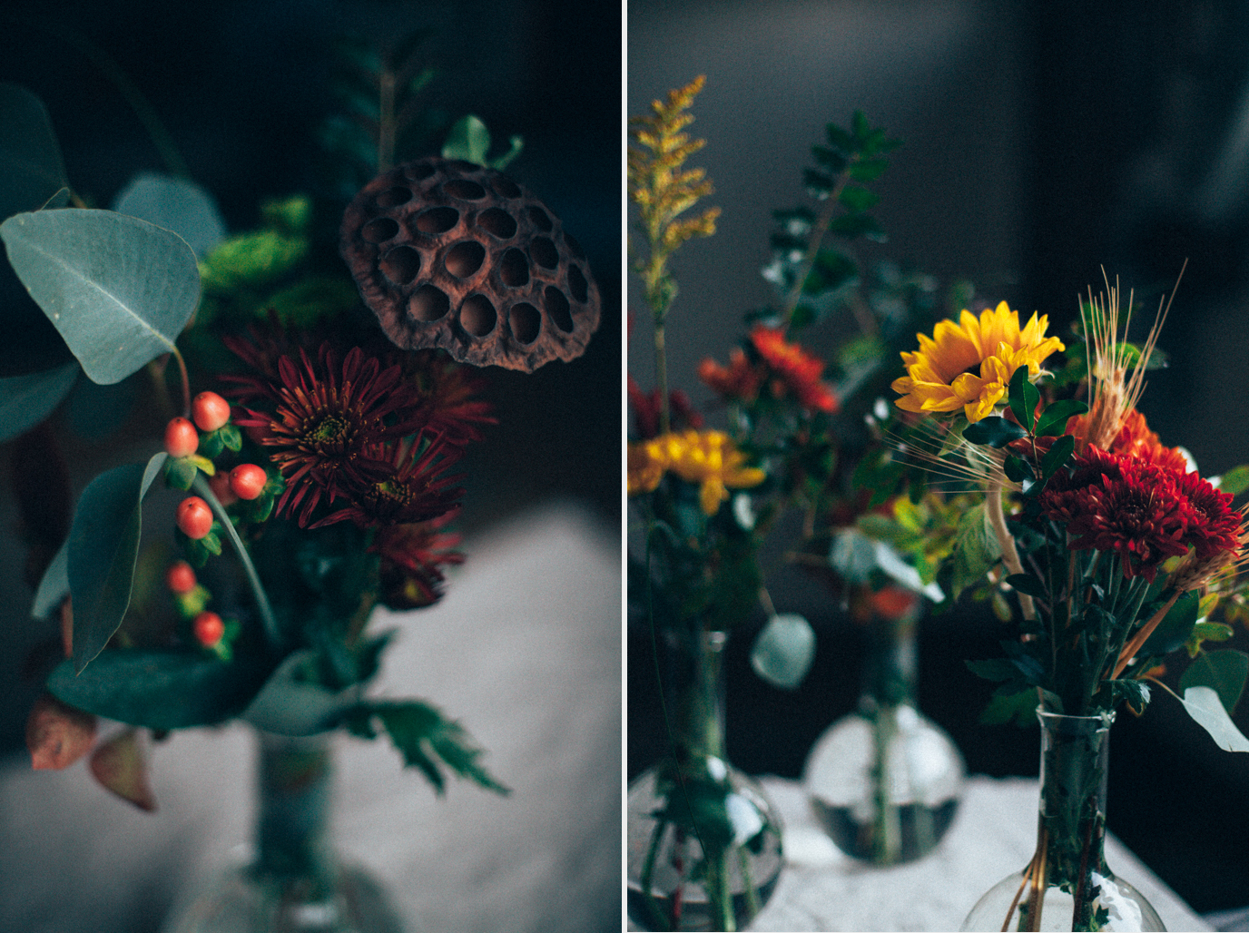 friends giving flower arrangements and a giveaway with J. Q. Dickinson Salt Works