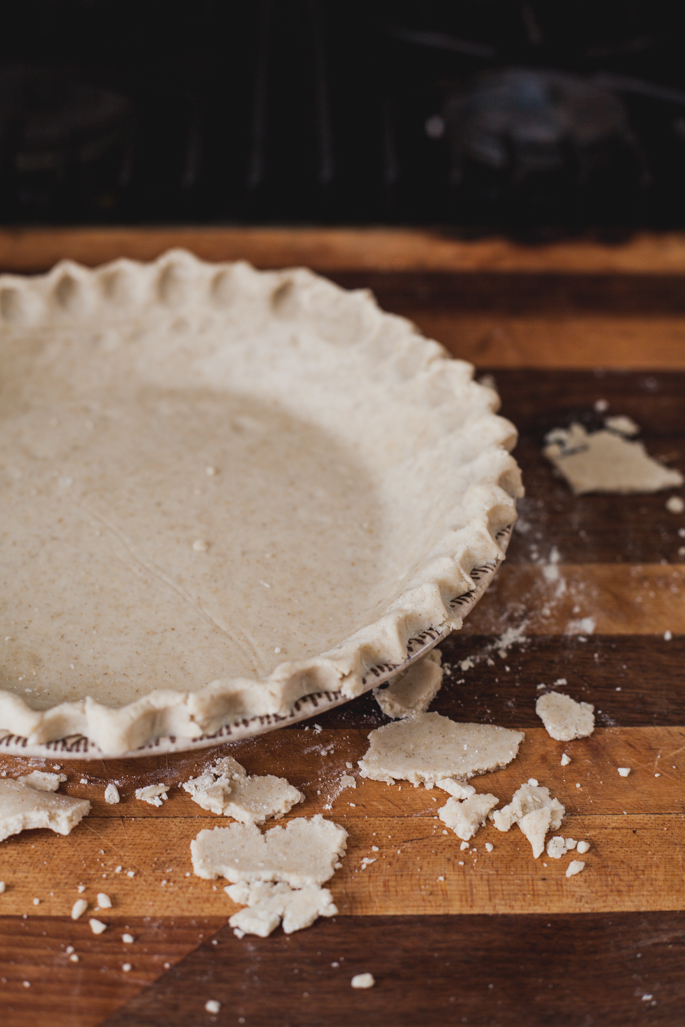 spiced honey maple macadamia pie (gluten free, dairy free) via will frolic for food