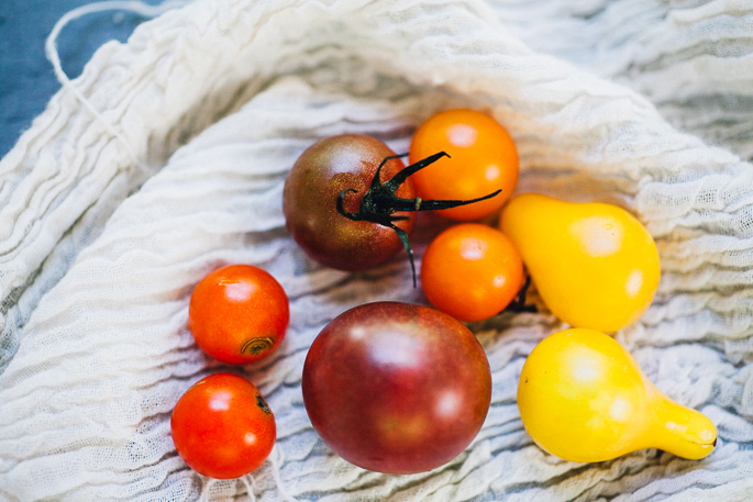 heirloom tomato & hemp gazpacho   recipe via willfrolicforfood.com
