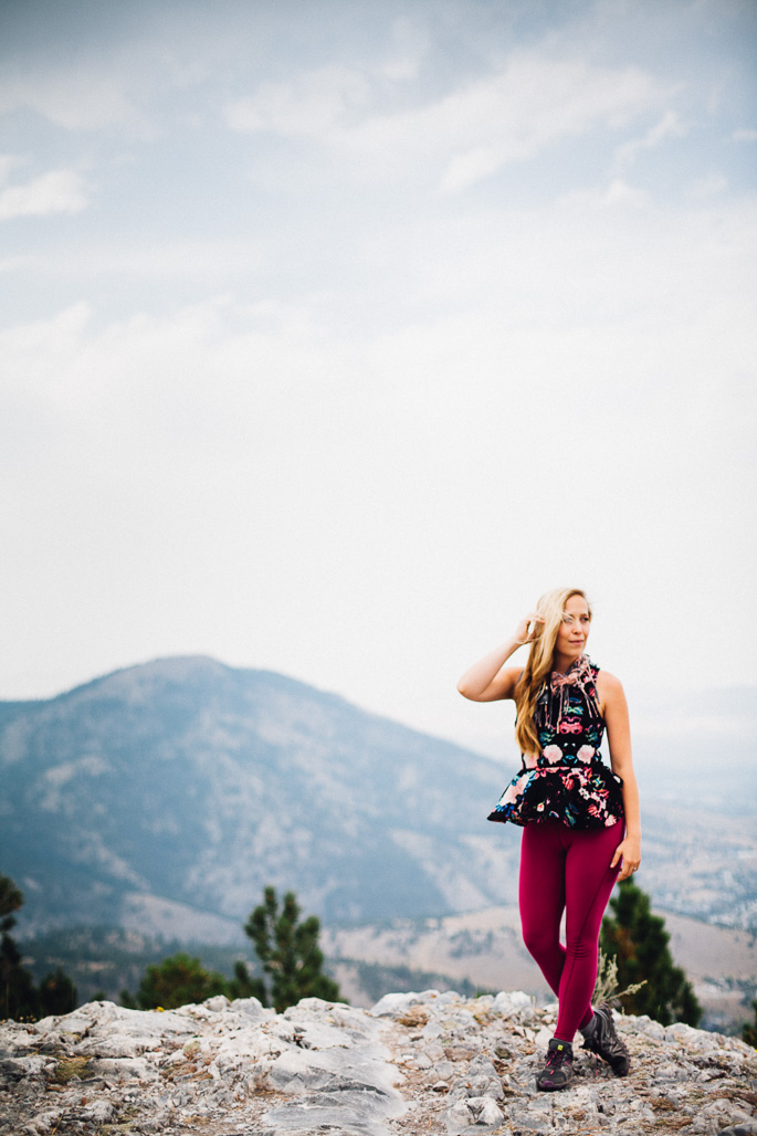 a hike in Helena, Montana to the top of Mt. ascension | willfrolicforfood.com