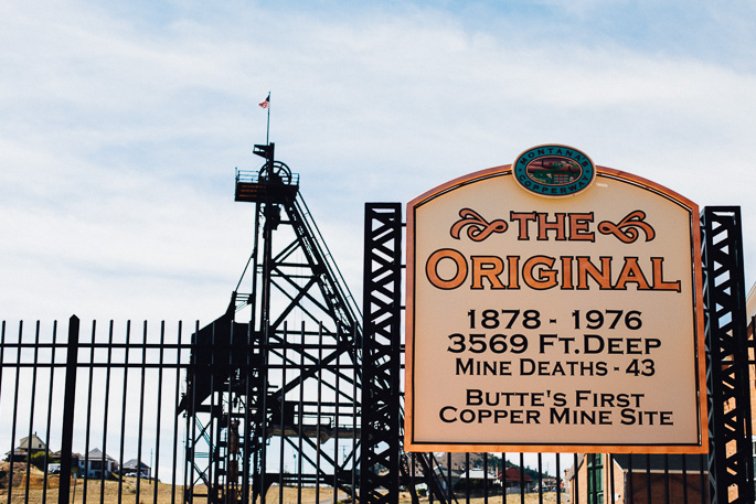 the original mining operation in butte, montana | willfrolicforfood.com