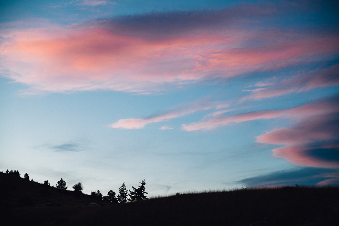 a pink sunset in helena, montana | willfrolicforfood.com