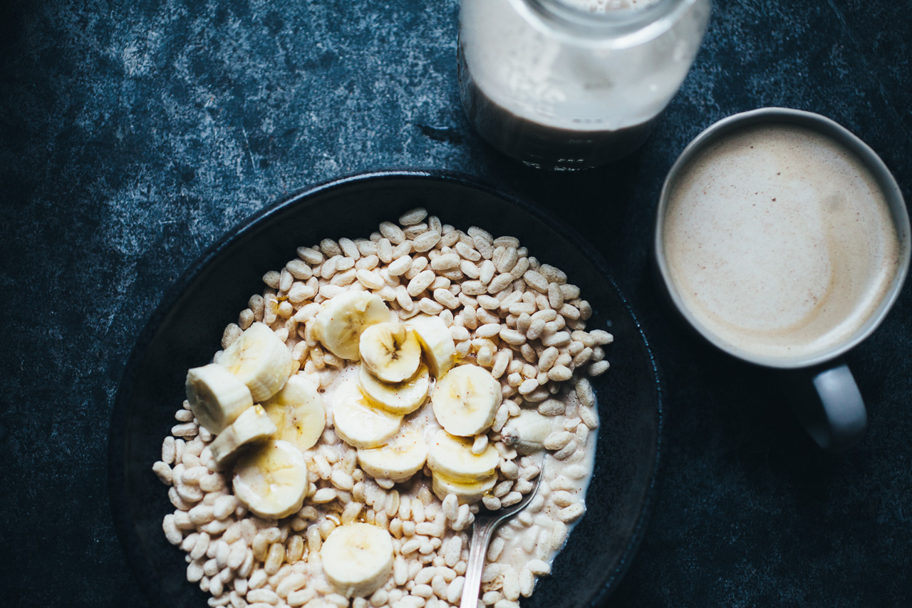 the 10 second DIY Almond Milk Hack! recipe via willfrolicforfood.com