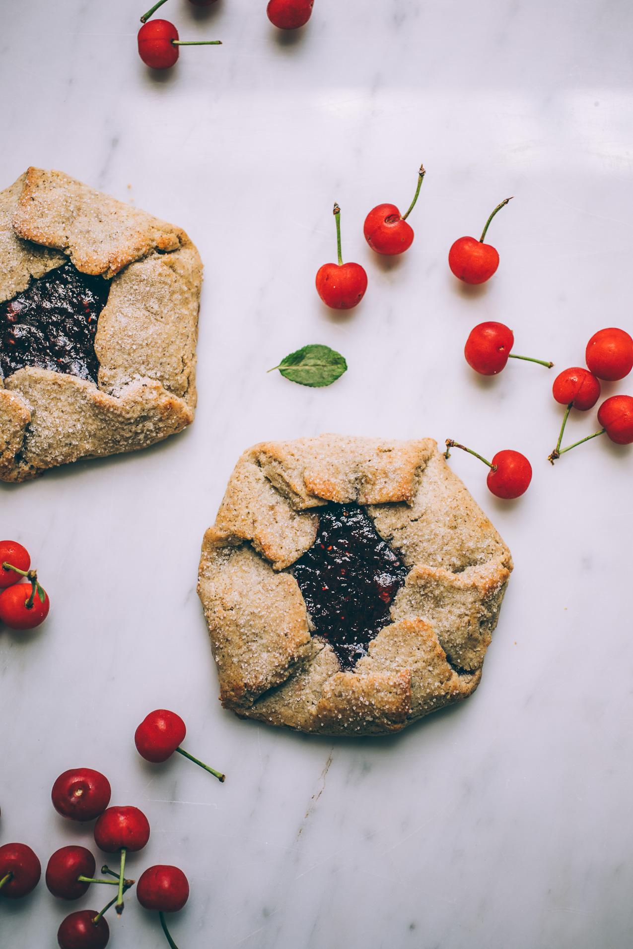 grain free, dairy free galette pie crust recipe