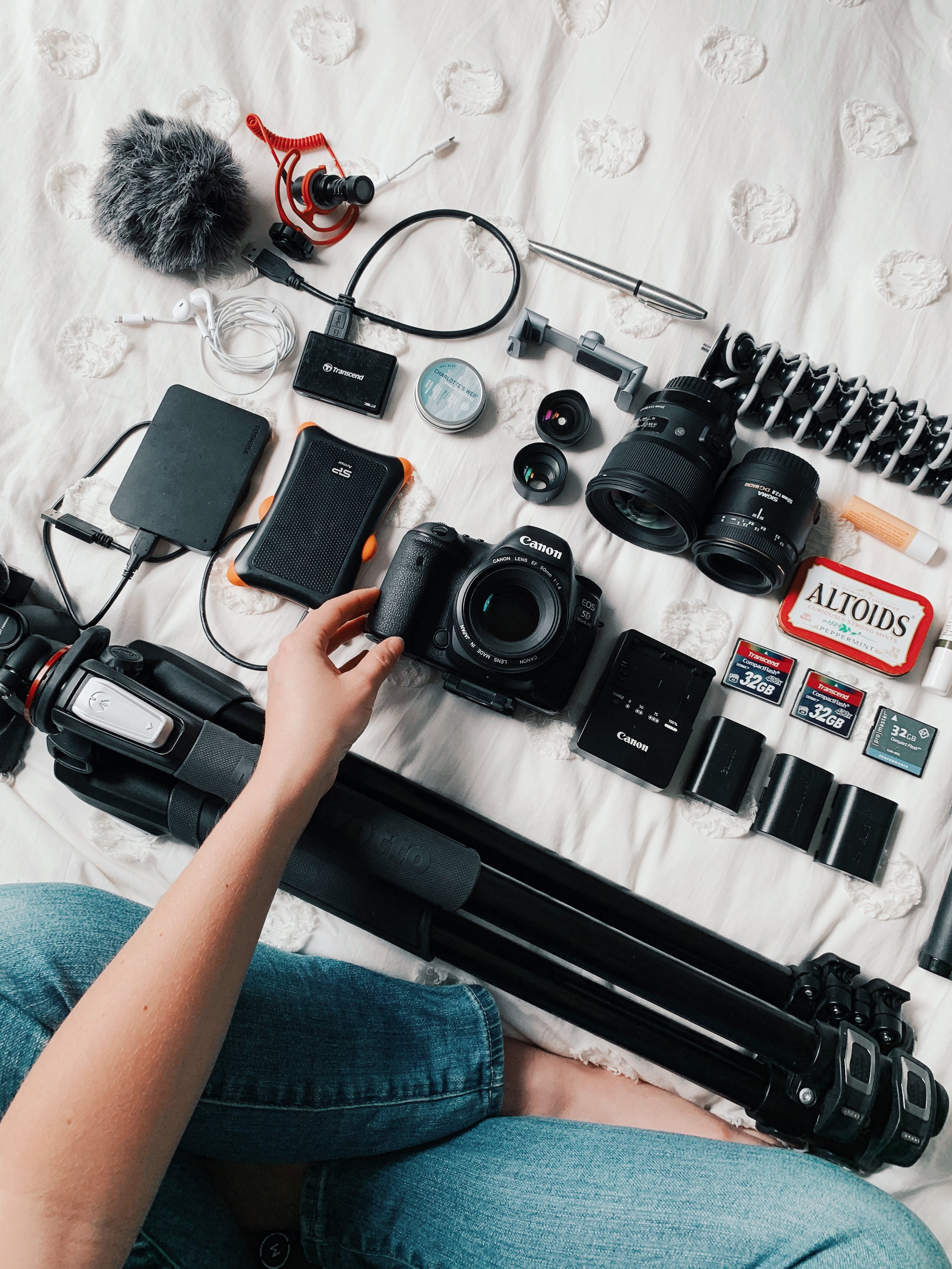 What's in the Camera Bag of a Pro Food Photographer -- Will Frolic for Food blog
