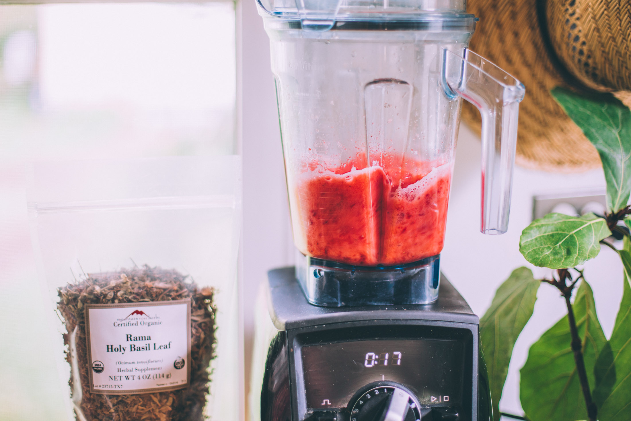 how to make herbal aguas frescas - recipes via will frolic for food