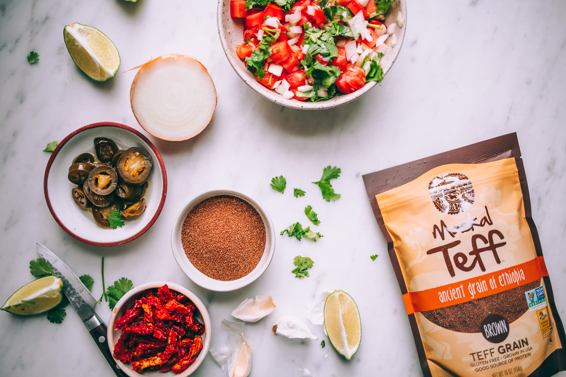 teff taco meat recipe + vegan taco bowls! via will frolic for food