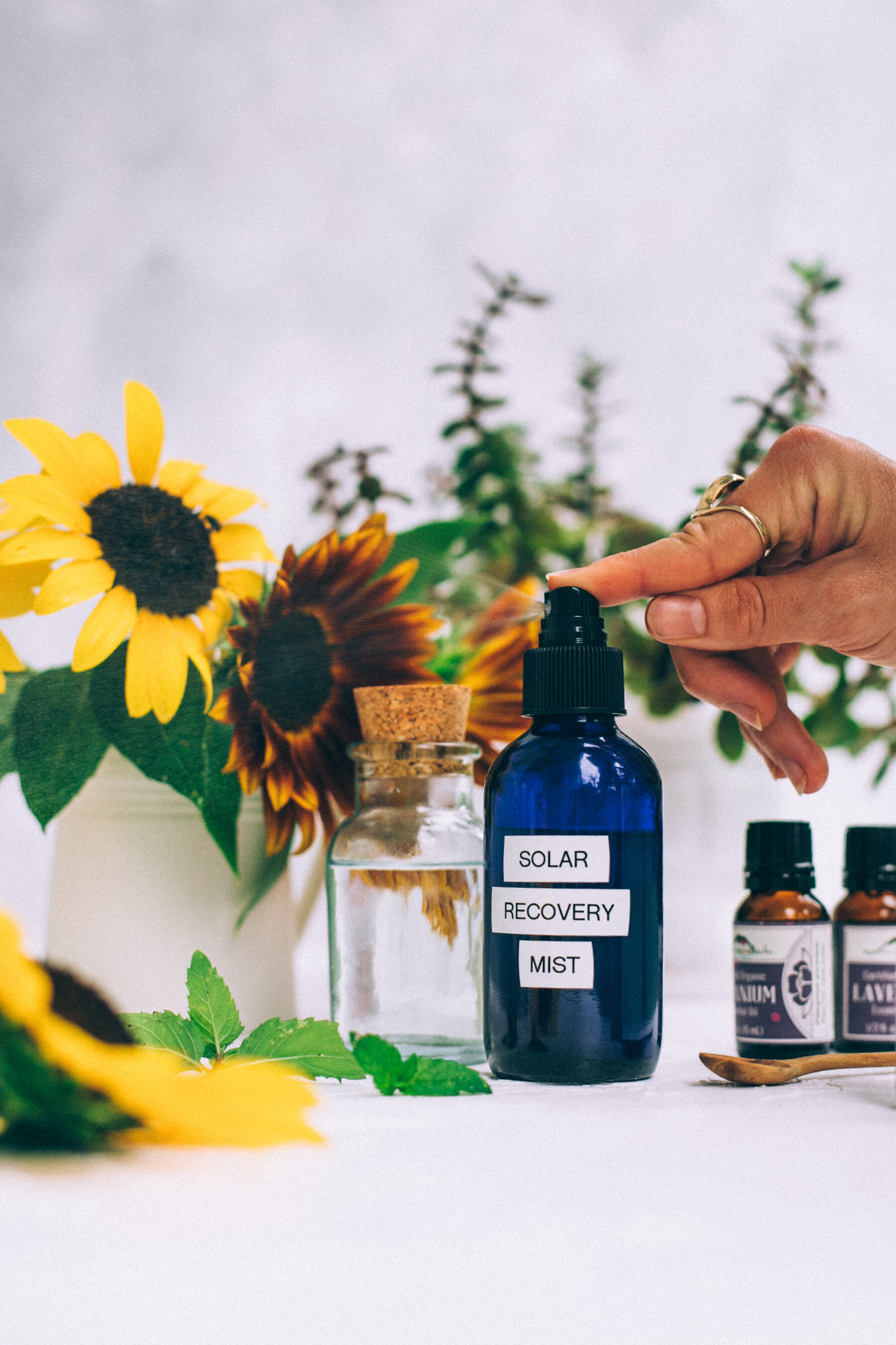 Diy Solar Recovery Mist Aka After Sun Skin Soothing Spray With Essential Oils Will Frolic For Food