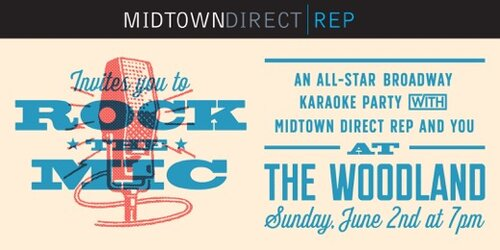 ROCK THE MIC: AN ALL-STAR KARAOKE PARTY An benefit for Midtown Direct Re featuring Norbert Leo Butz and many Broadway regulars. Maplewood, NJ